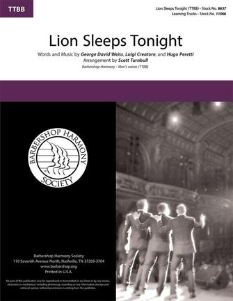 Product Cover for The Lion Sleeps Tonight