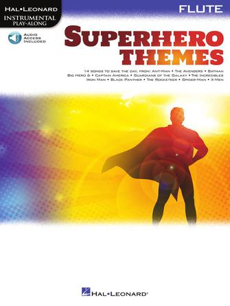 Superhero Themes Instrumental Play-Alongs