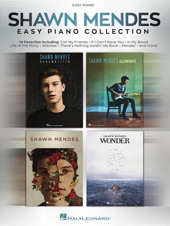 Shawn Mendes Easy Piano Collection