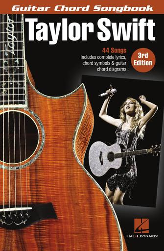Product Cover for Taylor Swift – Guitar Chord Songbook – 3rd Edition