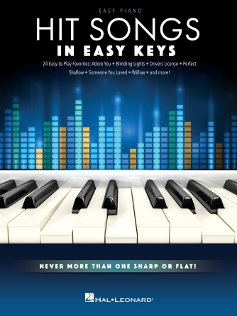 Product Cover for Hit Songs – In Easy Keys