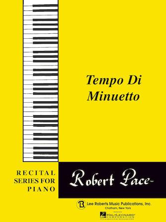 Product Cover for Recital Series For Piano, Yellow (Book II) Tempo Di Minuetto