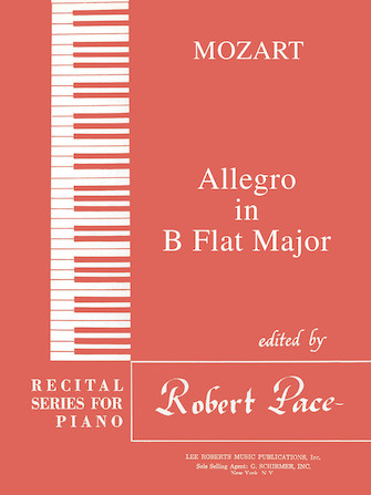 Product Cover for Allegro in B Flat Major