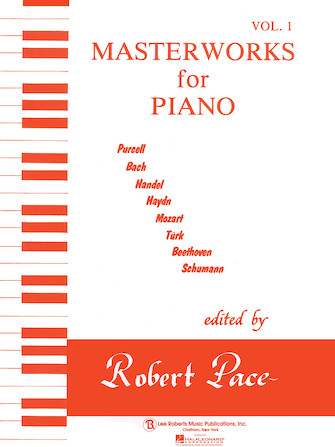 Product Cover for Masterworks for Piano – Volume 1