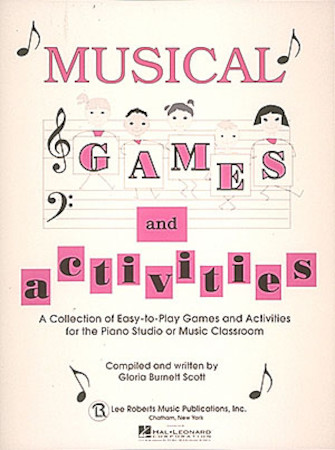 Product Cover for Musical Games and Activities