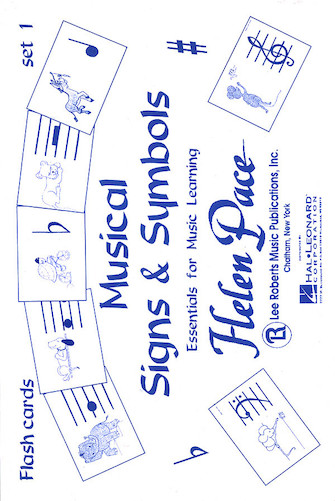 Product Cover for Flash Cards: Musical Signs and Symbols Set 1