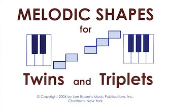 Product Cover for Melodic Shapes for Twins and Triplets