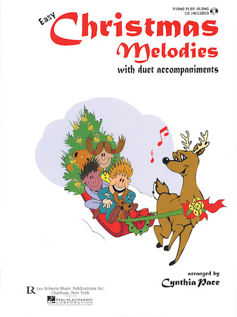 Product Cover for Easy Christmas Melodies Piano