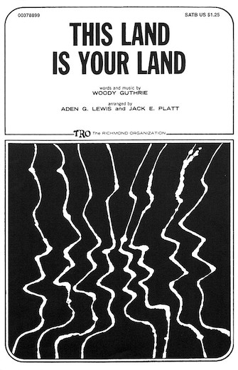 This Land Is Your Land : SATB : Jack E. Platt :  1 CD : 00378899 : 073999788990 : 0634024779