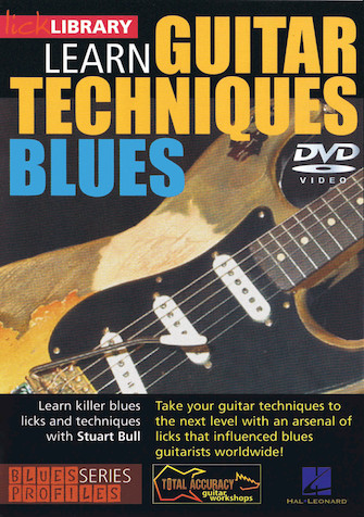 Product Cover for Learn Guitar Techniques: Blues