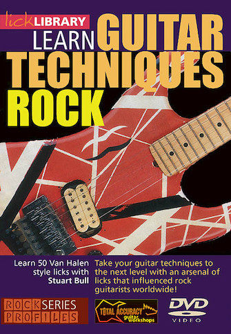 Product Cover for Learn Guitar Techniques: Rock