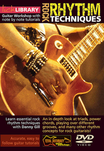 Product Cover for Rock Rhythm Techniques