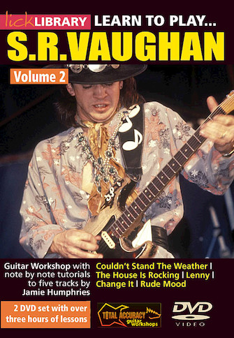 Product Cover for Learn to Play Stevie Ray Vaughan Guitar Technique