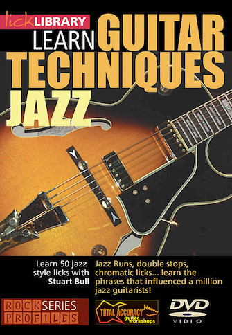 Product Cover for Learn Guitar Techniques: Jazz