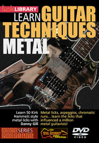 Product Cover for Learn Guitar Techniques: Metal