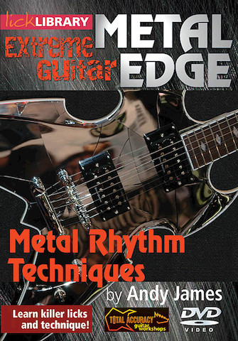 Product Cover for Metal Rhythm Techniques