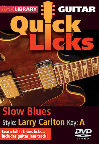 Product Cover for Slow Blues – Quick Licks