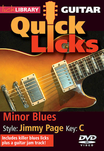 Product Cover for Minor Blues – Quick Licks