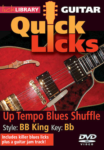 Product Cover for Up Tempo Blues Shuffle – Quick Licks