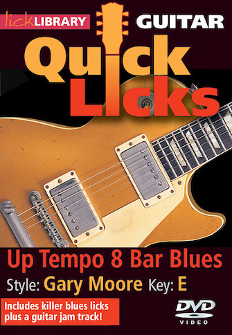 Product Cover for Up Tempo 8-Bar Blues – Quick Licks