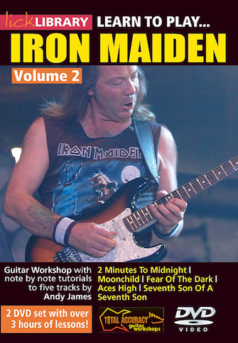 Product Cover for Learn to Play Iron Maiden