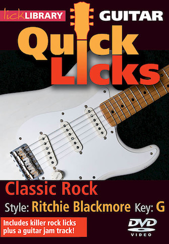 Product Cover for Classic Rock – Quick Licks