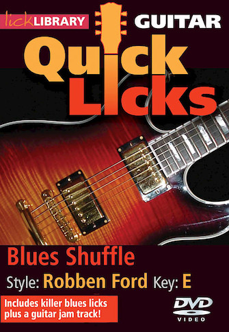 Product Cover for Blues Shuffle – Quick Licks