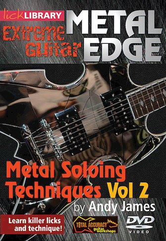 Product Cover for Metal Soloing Techniques, Volume 2