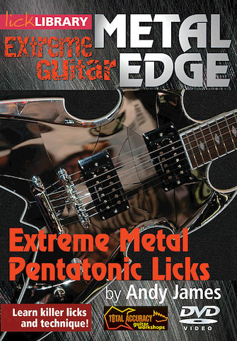 Product Cover for Extreme Metal Pentatonic Licks