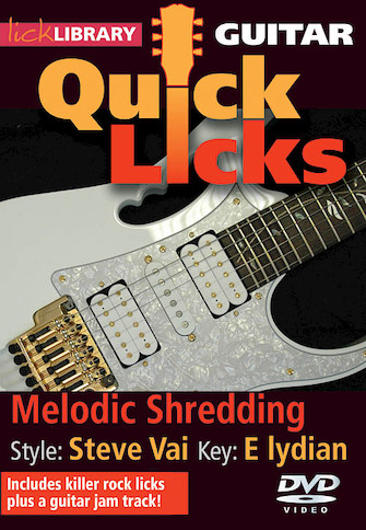 Product Cover for Melodic Shredding – Quick Licks