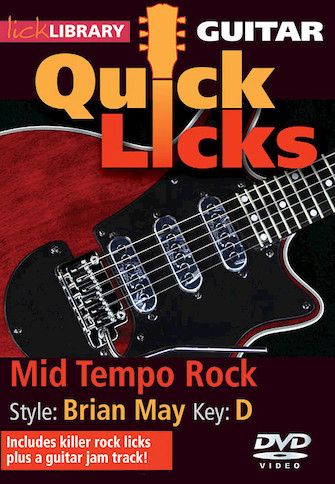 Product Cover for Mid Tempo Rock – Quick Licks