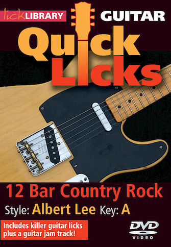 Product Cover for 12-Bar Country Rock – Quick Licks