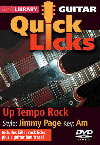 Product Cover for Up Tempo Rock – Quick Licks
