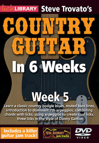 Product Cover for Steve Trovato's Country Guitar in 6 Weeks