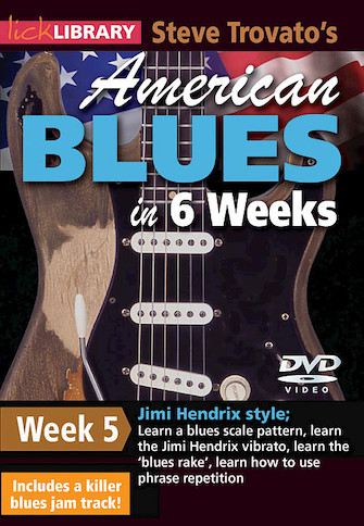 Product Cover for Steve Trovato's American Blues in 6 Weeks