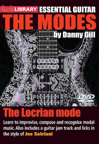 Product Cover for The Locrian Mode (Joe Satriani)