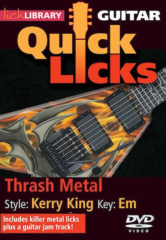 Product Cover for Thrash Metal – Quick Licks
