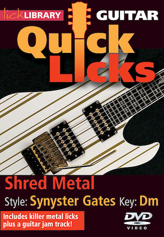 Shred Metal – Quick Licks