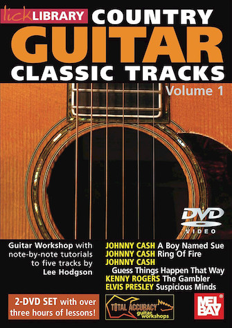 Country Guitar Classic Tracks- Taught By Lee Hodgson