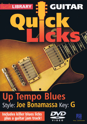 Product Cover for Up Tempo Blues – Quick Licks