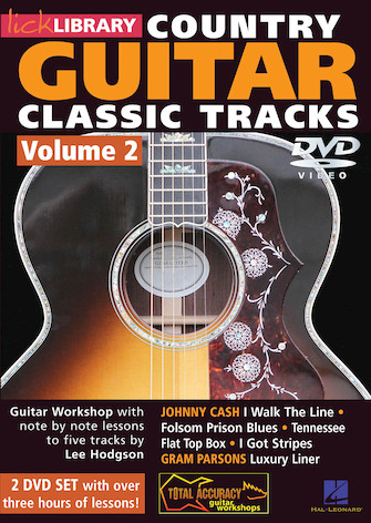 Learn Country Guitar Classic Tracks – Volume 2