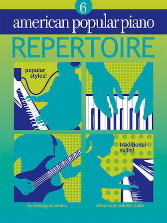 Product Cover for American Popular Piano – Repertoire