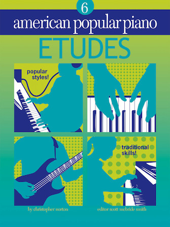Product Cover for American Popular Piano – Etudes