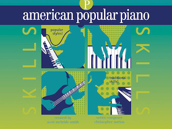 Product Cover for American Popular Piano – Skills