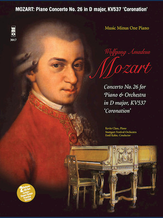 "Product Cover for Mozart – Concerto No. 26 in D Major (KV537), ""Coronation"""