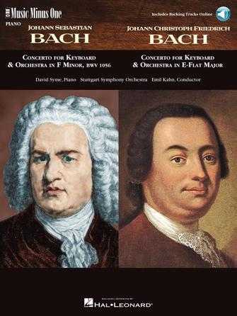 Product Cover for J.S. Bach – Concerto in F Minor, BMV1056 & J.C.F. Bach – Concerto in E-flat Major