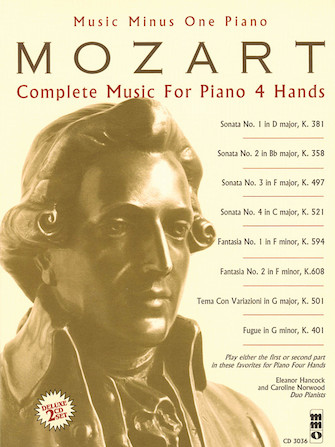 Mozart – Complete Music for Piano, 4 Hands