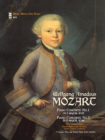 Product Cover for Mozart – Concerto No. 1 in F Major, KV37; Concerto No. 3 in D Major, KV40
