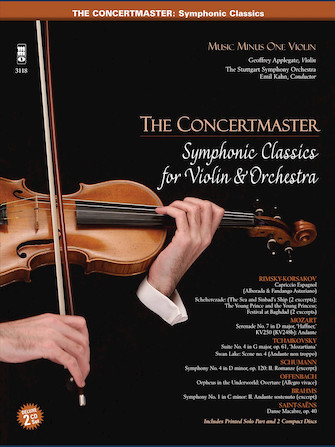 The Concertmaster – Symphonic Classics for Violin and Orchestra