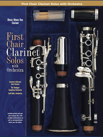 Product Cover for First Chair Clarinet Solos – Orchestral Excerpts